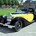 La bugatti type 57 carrossée par stelvio de 1934 (9ème classic gala de schwetzingen 2011)