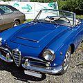 Alfa romeo giulia 1600 spider 1962-1966