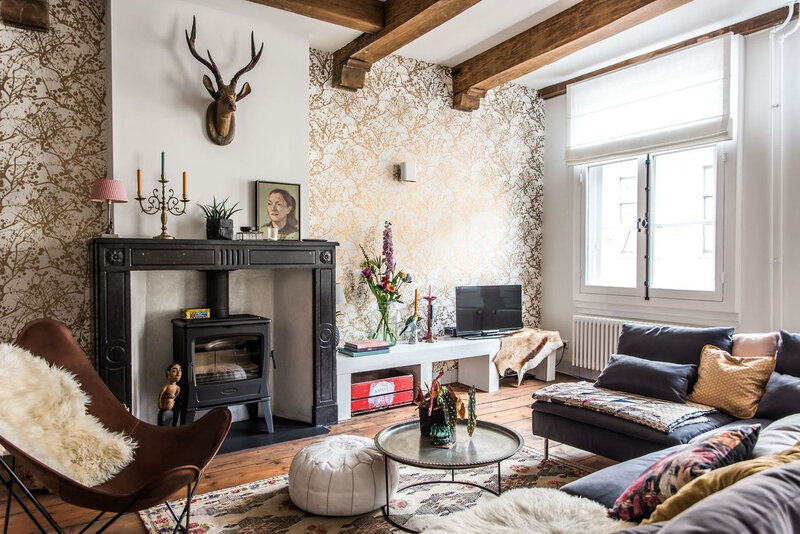 A romantic vintage apartment styling by Copparstad photos by Spinnell (16)