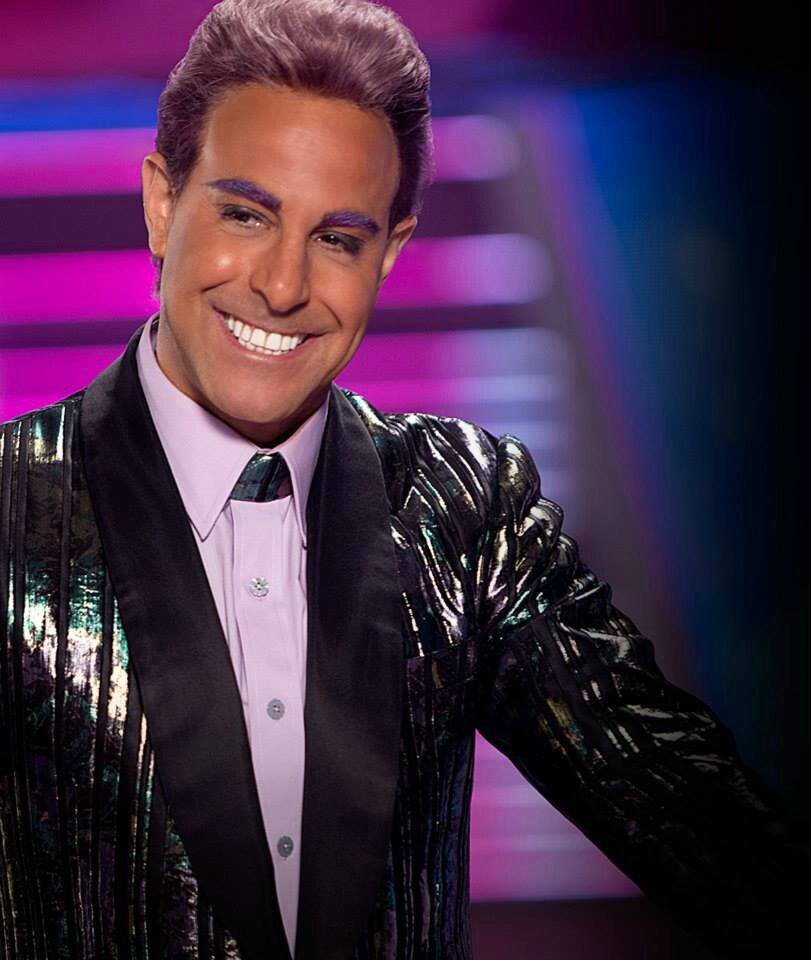 Caesar Flickerman Catching Fire