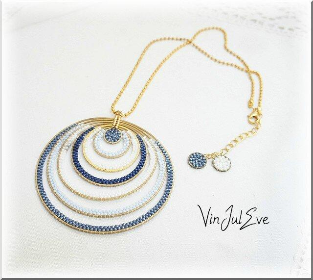 collier Galatsi bleu 1