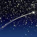 Étoile filante étoiles