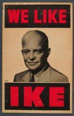 Nous aimons Eisenhower ( Ike)