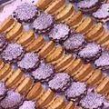 Plateau de biscuits fourrés