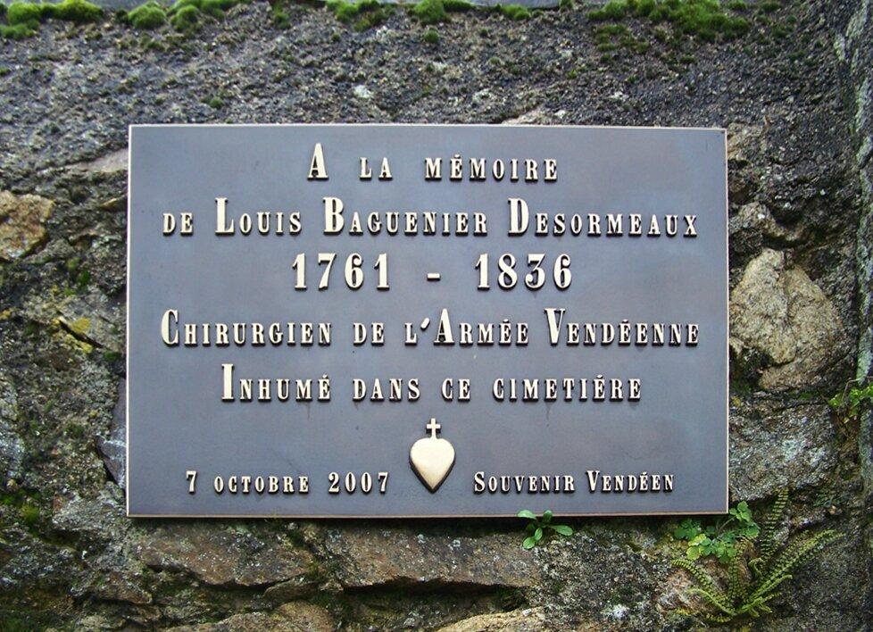 Maulévrier (49) – Cimetière communal (2007)