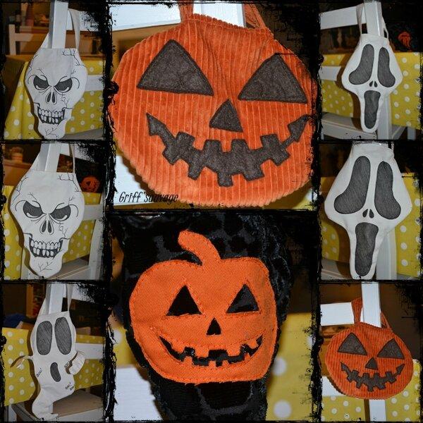 sac à bonbons d'halloween1