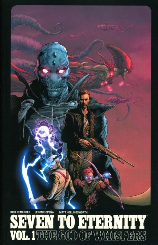 seven to eternity vol 01 the god of whispers TP
