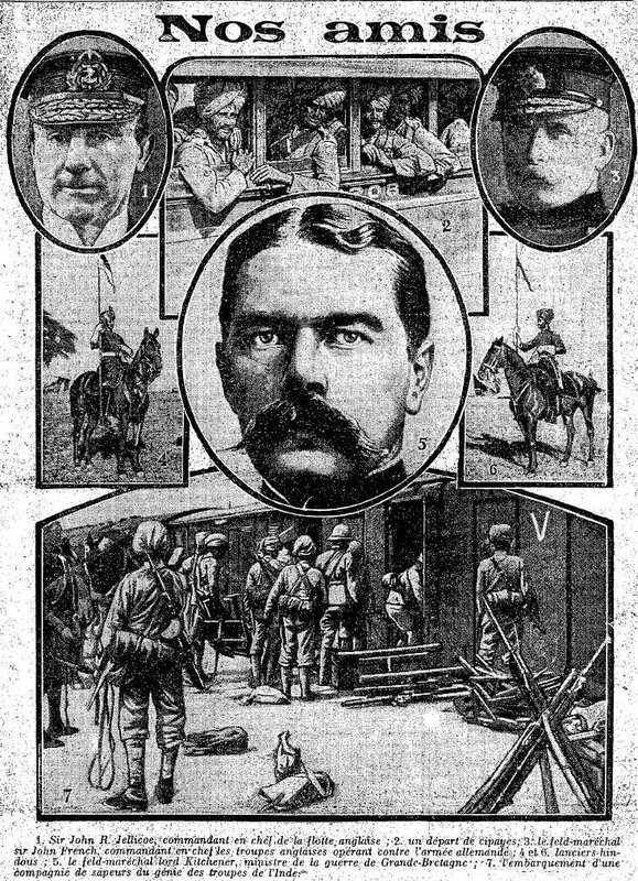 Nos amis French 30 Sept 1914