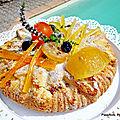 recette facile du moelleux au citron et fruits confits