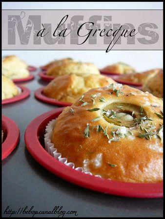 Muffins à la Grecque