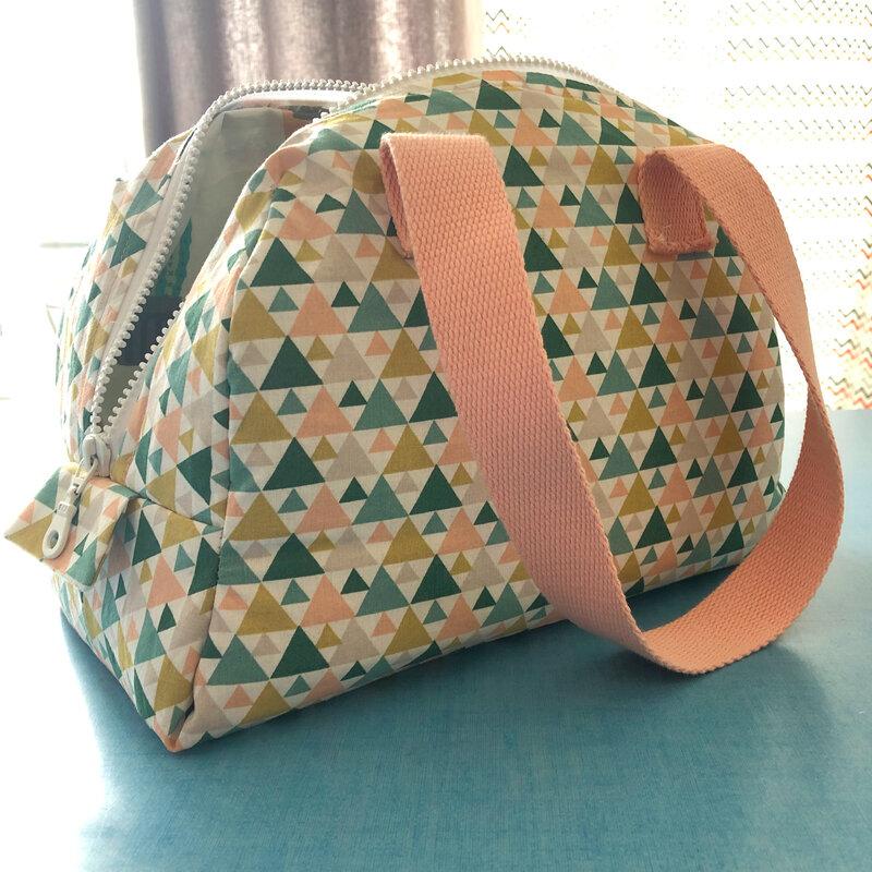 Le lunch bag Elsa de Mouna Sew