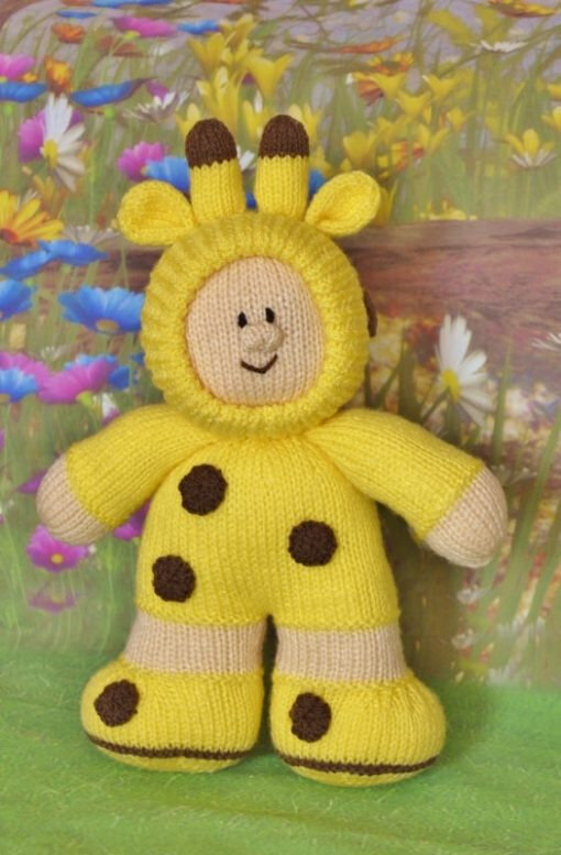 Traduction Giraffe Boy - Knitting by Post
