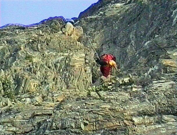 grimpée câblée