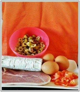 Bouchées aux olives et jambon cru 3