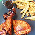 Pilons de poulet grillés sucrés/salés
