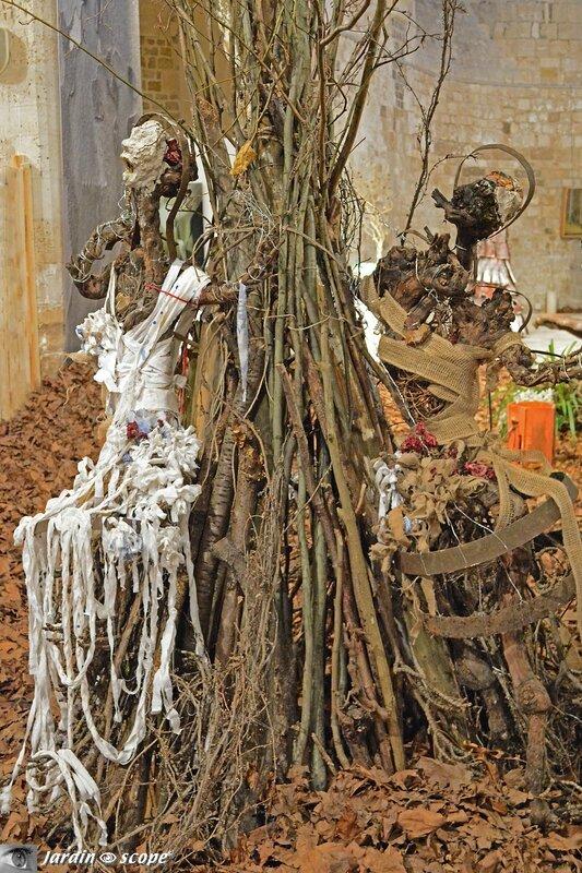 Dryades - une sculpture végétale de Liska