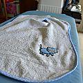 Recycler une vieille serviette de bain...