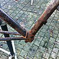 Single speed fixie ve´lo rouille rusty 10