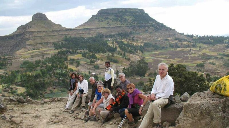 trekking route of lalibela with abyss land tour and travel