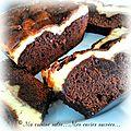 Cake bi-couche chocolat& mascarpone