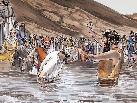 baptême de Jean-Baptiste