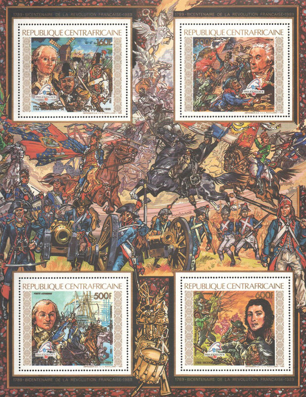 Timbres Bicentenaire