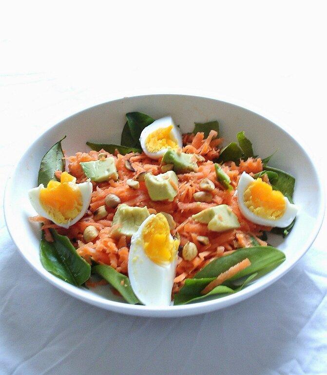 salade de carottes croquante aux cacahuètes