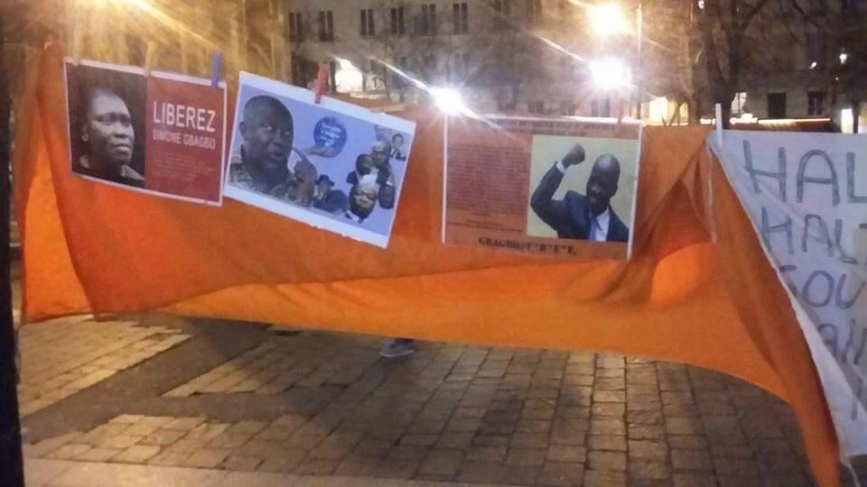 MOBILISATION EN FAVEUR DE LA LIBÉRATION DU PRÉSIDENT LAURENT GBAGBO