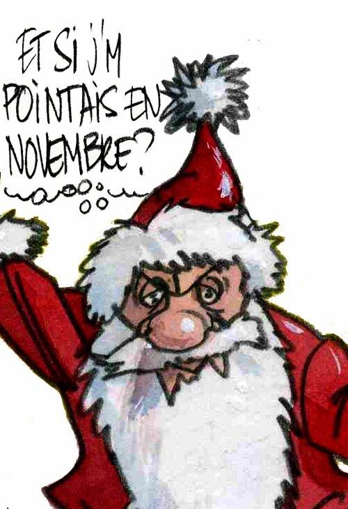Humour Pere Noel Image.Le Pere Noel A De Droles D Idees Pierre Ballouhey
