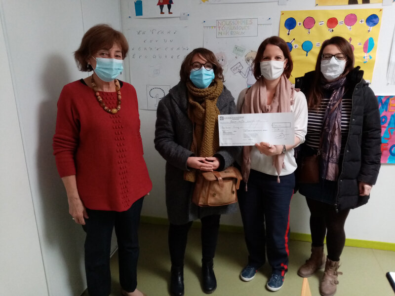 Les collégiens de Forges-les Eaux solidaires des élèves de sabcé depuis 10 ans