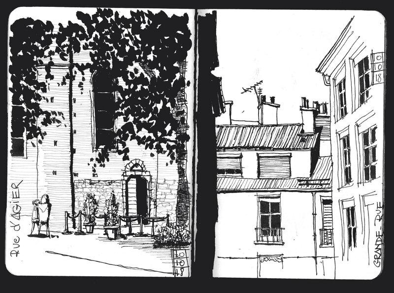 St André et grande rue