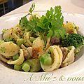 Orecchiette aux brocolis et saucisse fenouil
