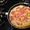 Cookie poêlé à la praline rose, bataille food #50