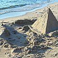 Pyramide en sable