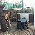 Terrasse basse+vélos