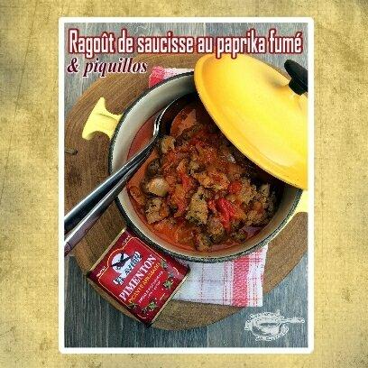 ragout de saucisses au paprika fume et piquillos (SCRAP)