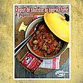 Ragout de saucisses au paprika fumé & piquillos