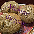 Muffins aux figues-amandes