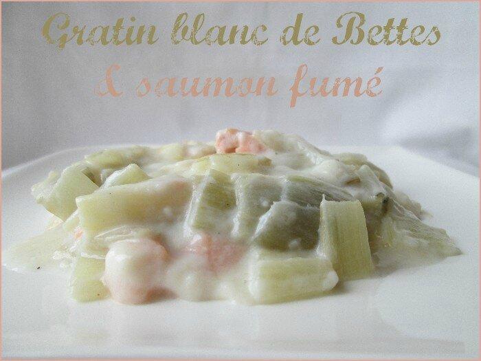 gratin de blanc de bettes au saumon fumé 1