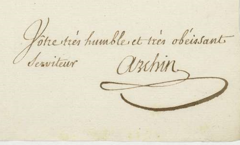 signature de LTJ Archin