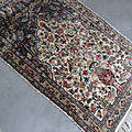 Tapis d'orient vintage laine
