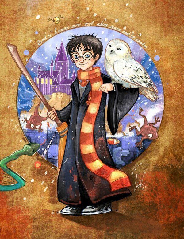 Illustration - Harry Potter - Fanart - Deviantart