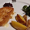 Camembert frit comme à berlin