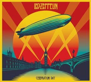 ballon dirigeable led zep album