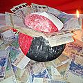 Portefeuille mystique d'argent du puissant medium marabout ola ife le pouvoir mystique pour la guérison des problèmes.