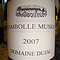 Domaine dujac 2007 chambolle-musigny