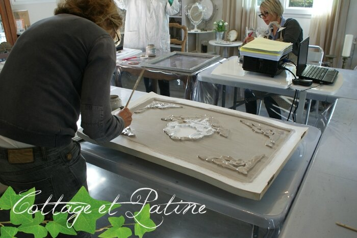 Cottage et Patine stage relooking meubles 09 2016 (1)
