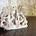 pierre XIXème chinoise marbre