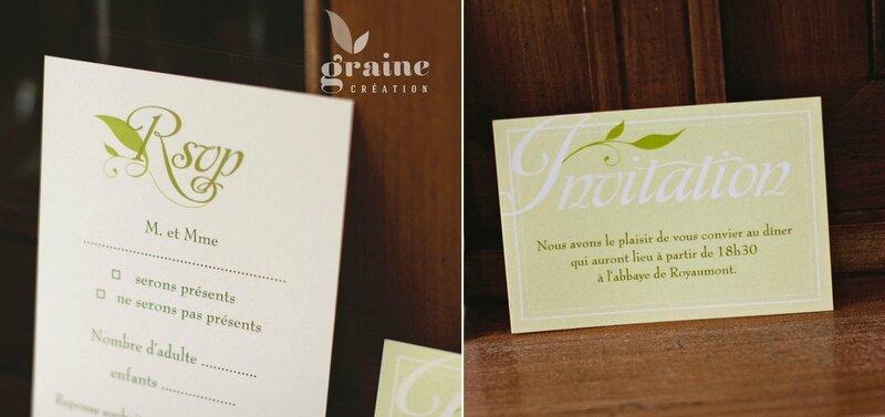 faire-part-olivier les cartons d'invitation