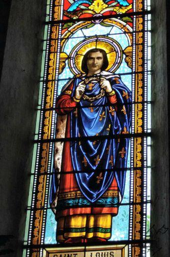 8_église Ste Radegonde de St Felix_vitrail St Louis